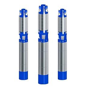 Агрегаты электронасосные центробежные скважинные для воды типа CRS